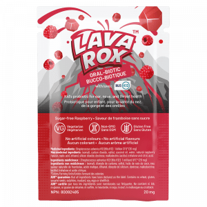 AOR04416 LavaRox Oral Biotic Raspberry